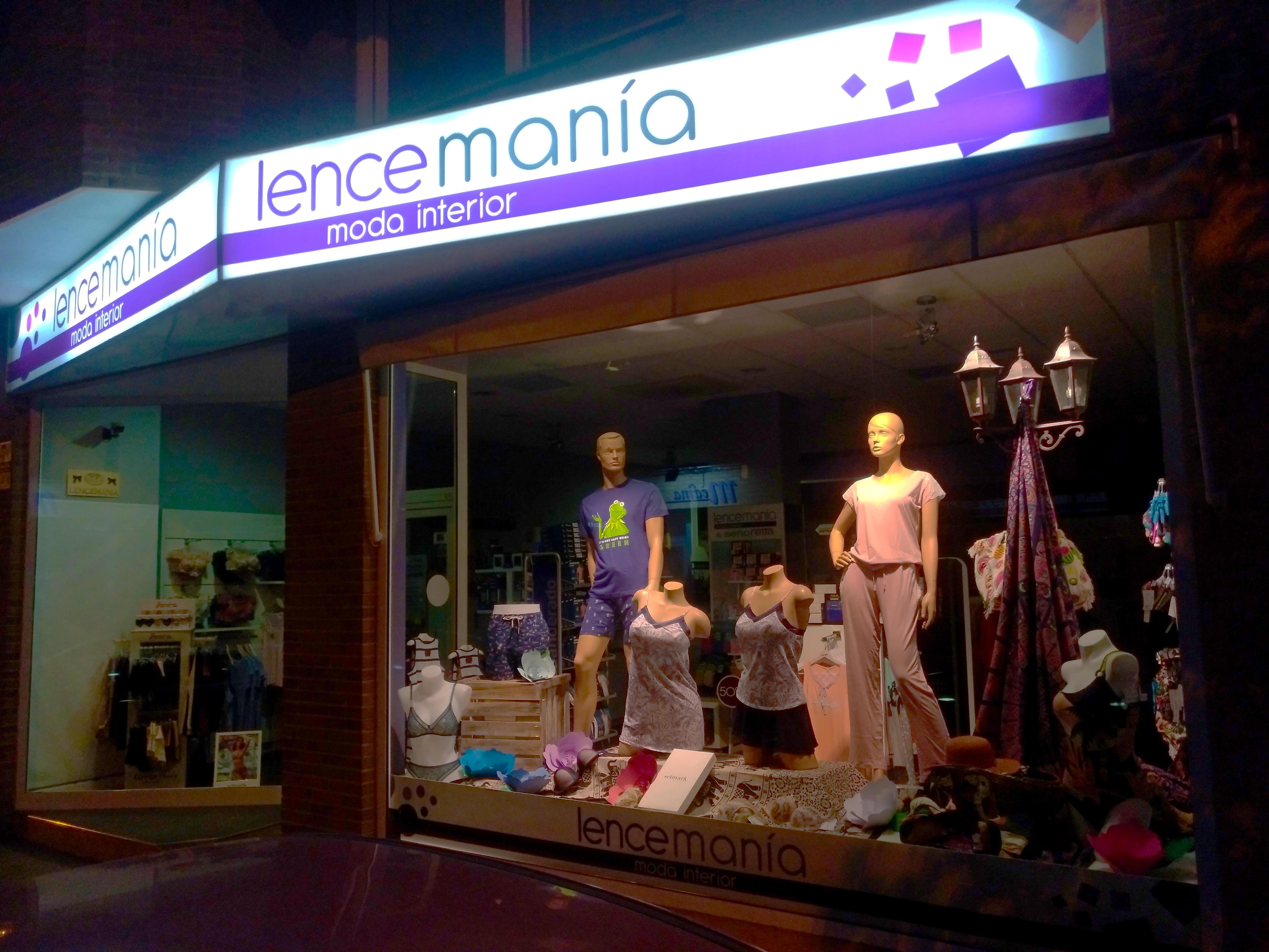 Lencemanía, moda interior