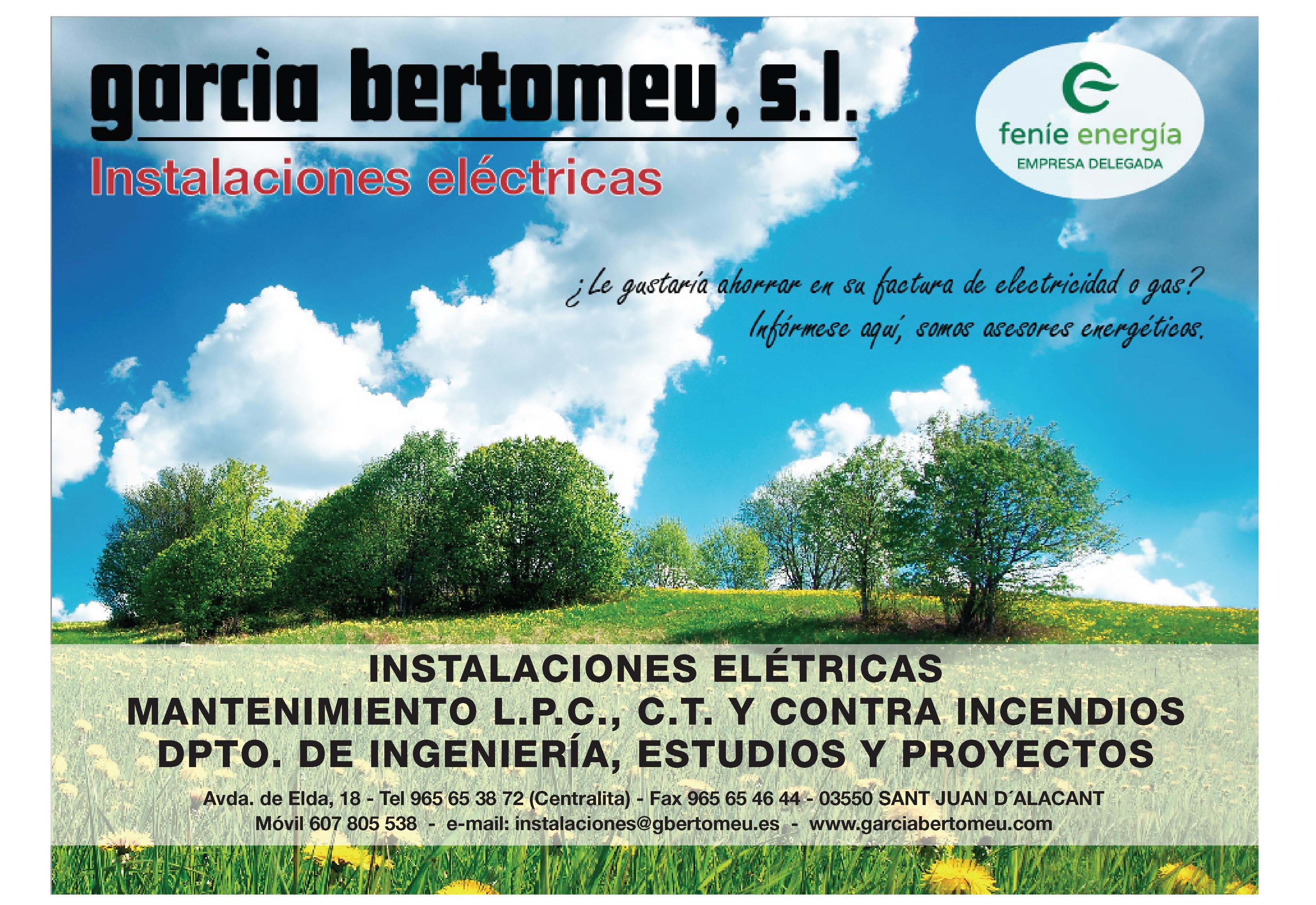 INSTALACIONES ELECTRICAS GARCIA BERTOMEU,S.L.